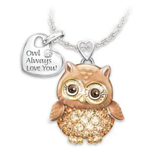 Owl Always Love You Necklace 1 Owl Always Love You Necklace