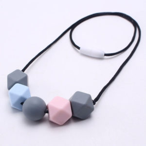 Silicone Teething Necklace 1 Silicone Teething Necklace